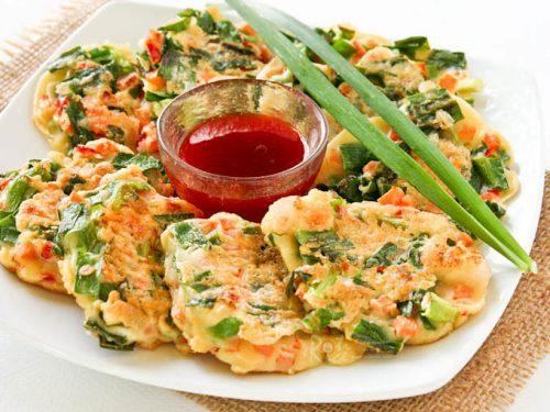 Chinese Savory Pancakes Roti N Rice