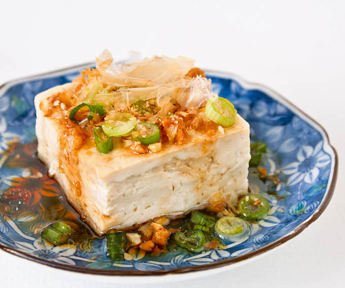 Steamed tofu with garlic soy dressing roti n rice steamed tofu with garlic soy dressing a healthy and delicious side dish to go with forumfinder Choice Image