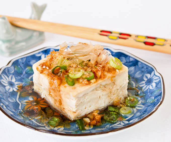 Steamed Tofu With Garlic Soy Dressing A Healthy And Delicious Side Dish To Go