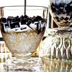 Ebony n Ivory Dessert (Grass Jelly and Tapioca Pearls Dessert)