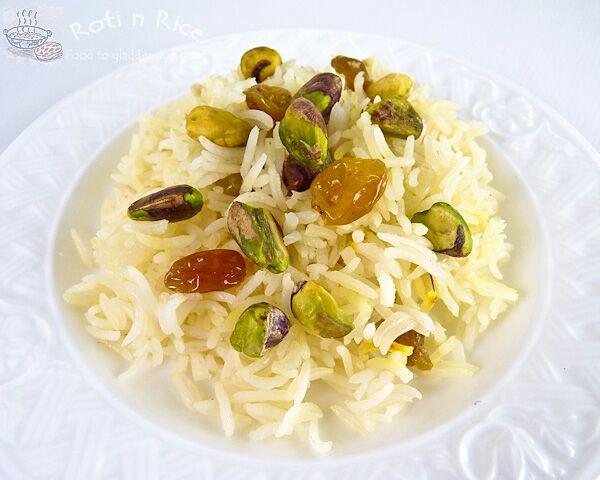 Saffron Pistachio Pilaf