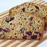 This quick and easy Dates and Zucchini Bread is sweet, moist, and dense. It is great for a mid-morning or afternoon snack. | RotiNRice.com #zucchinibread #quickbread #dates #zucchini