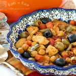 Spanish Style Chicken Stew and CSN Giveaway