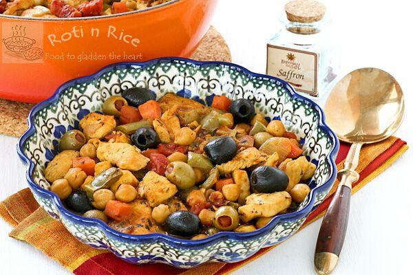 Spanish Style Chicken Stew