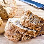 This Trail Bread is packed with fiber and seeds. It is fragrant, dense, and very tasty. Delicious served warm with butter. | RotiNRice.com