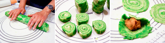 Spiral Butternut Squash Mooncakes-7