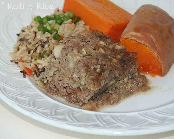 Eggless Meatloaf