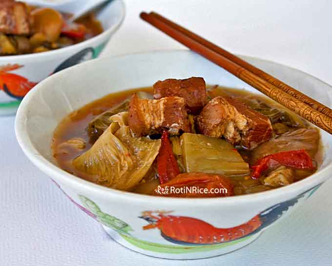 Delicious Chop Suey Soup (Chai Boey)