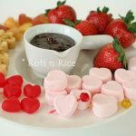 Happy Valentine's Day and Peanut Butter Chocolate Fondue