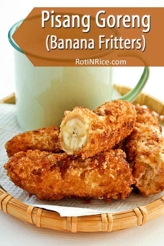 Pisang Goreng Banana Fritters Roti N Rice