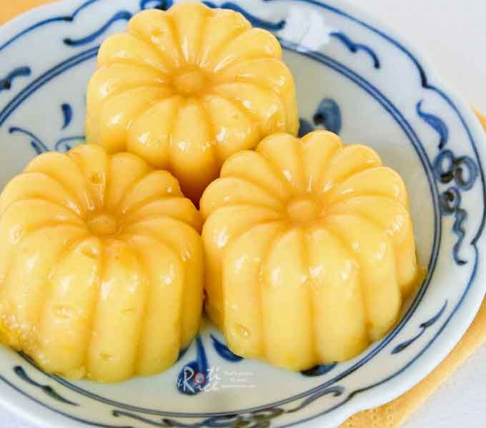This delightful Sweet Corn Pudding is a wonderful addition to any dessert table.Easy to prepare and uses only 4 ingredients.   RotiNRice.com