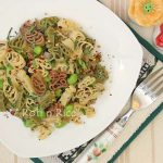 Easter Pasta with Olive Oil and Edamame