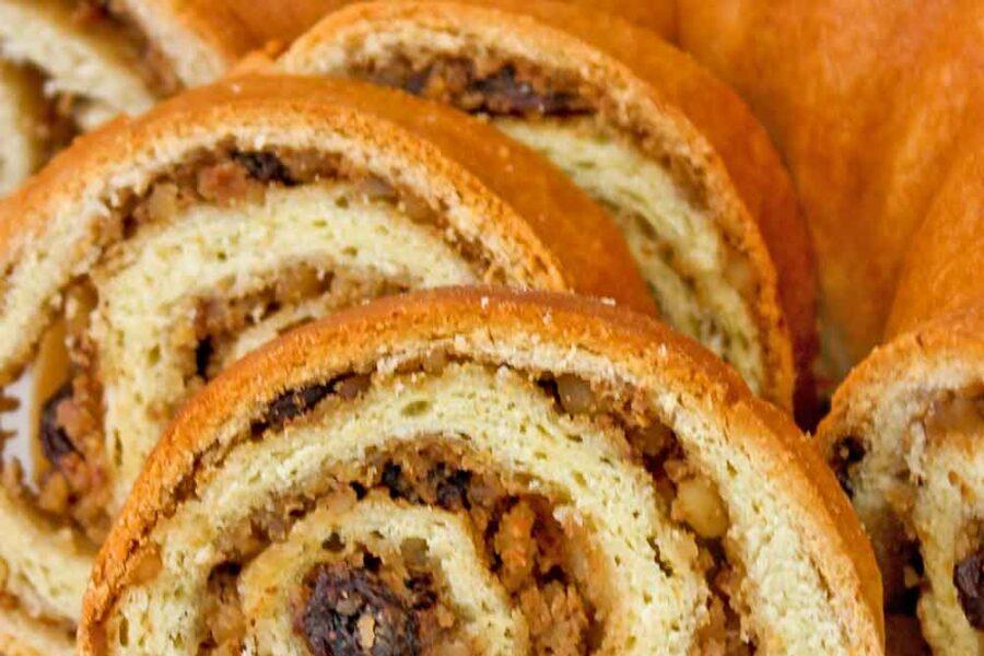 Potica (Slovenian Nut Roll), a delicious celebratory bread.