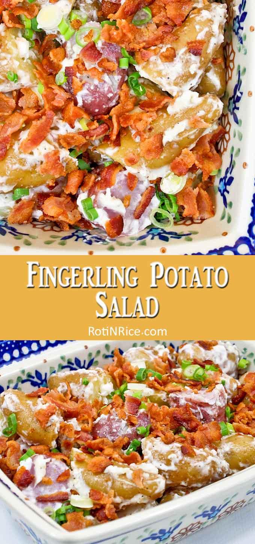 Creamy Fingerling Potato Salad