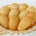 Gluten-Free Orange Blossom Madeleines