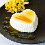 Orange Blossom Panna Cotta with Orange Sauce