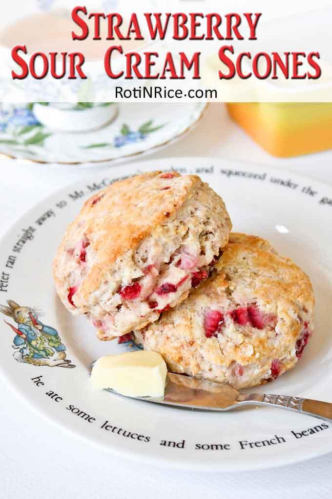 Warm and delicious scones