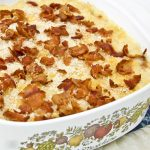 Baked Macaroni and Cheese with Panko and Bacon