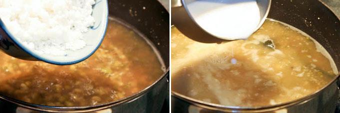 Sweet Mung Bean and Sago Soup-5