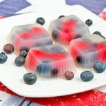 Rose Berry Agar-agar and Happy 4th!