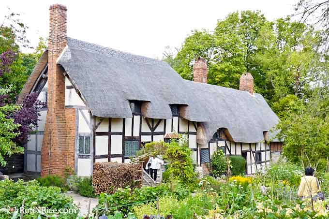Mary Arden's Farm, the home of Shakespeare's mother
