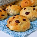 Cranberry Walnut Rolls