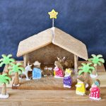 Gingerbread Nativity and The Reason for the Season