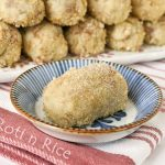 Baked Potato and Tuna Croquettes