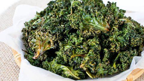 Crispy Kale Chips Seasoned With Garam Masala Roti N Rice
