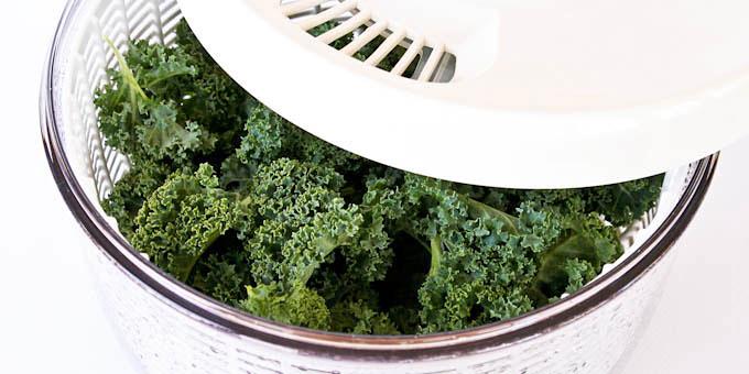 Crispy Kale Chips Seasoned with Garam Masala-6