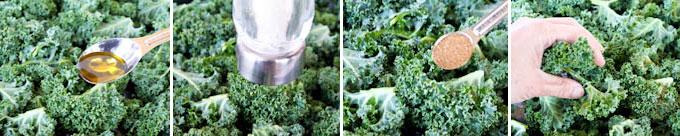 Crispy Kale Chips Seasoned with Garam Masala-7