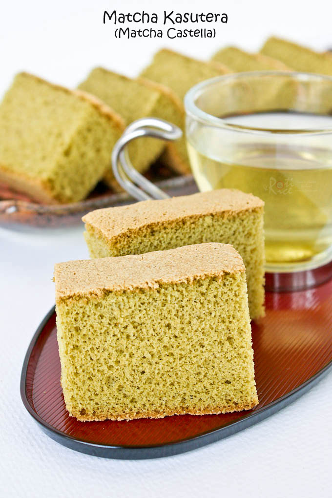 This Lovely Matcha Kasutera Green Tea Castella Is A Must Try Its Delicate