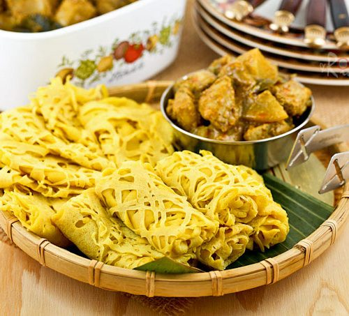 Roti Jala Malaysian Net Crepes Roti N Rice