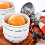 Cantaloupe and Mango Sorbet