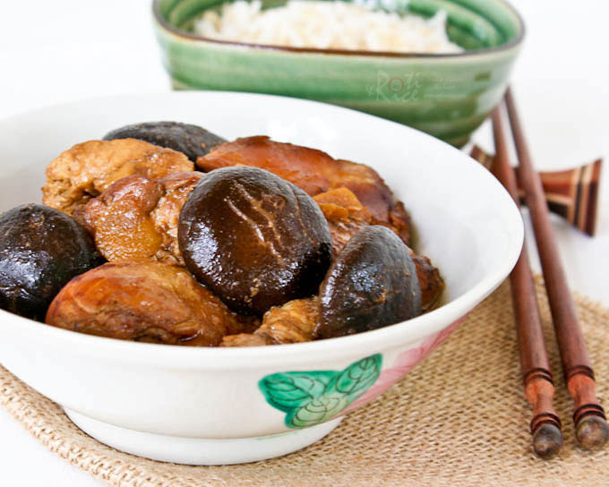 This Classic Braised Chicken With Dark Soy Sauce And Mushrooms Is Chinese Home Cooking At Its