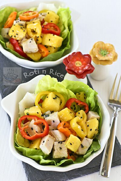 Mango and Turkey Salad