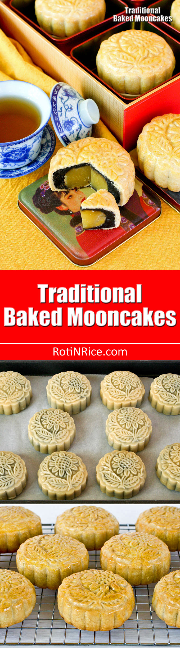Traditional Baked Mooncakes