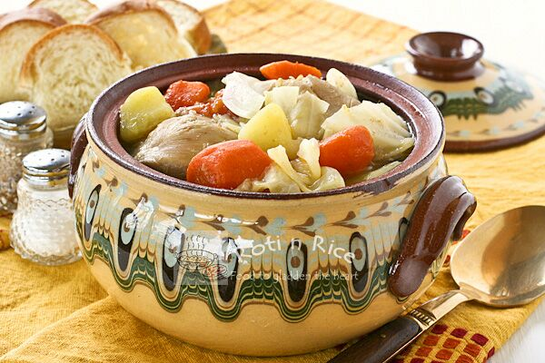 Eurasian Chicken Stew