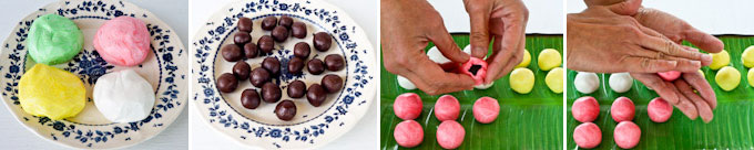Tang Yuan (Glutinous Rice Balls) with Red Bean Paste Filling-9