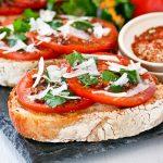 Bruschetta al Pomodoro (Bruschetta with Tomatoes)