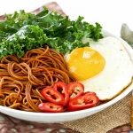 Lo Mein with Kale and Egg