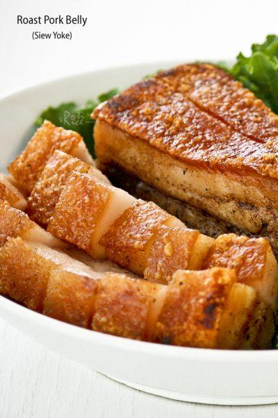 Golden Crispy Roast Pork Belly (Siew Yoke).