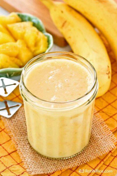Delicious Pineapple Banana Smoothie