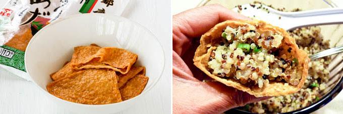 Quinoa Filled Tofu Pockets-6