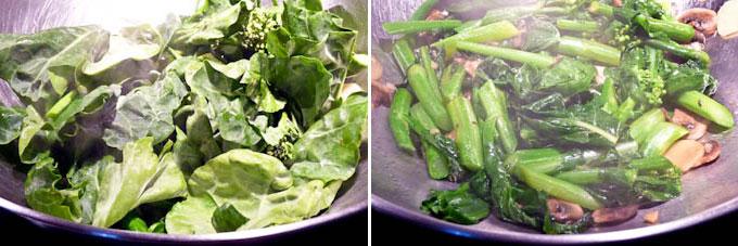 Stir Fry Gai Lan (Chinese Broccoli)-7