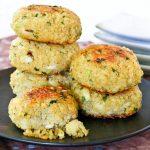 Quinoa Chives Fish Cakes