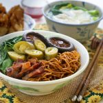 Dry style Wonton Noodles