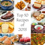 Top 10 Recipes of 2013, 4th Blogiversary, and Giveaway