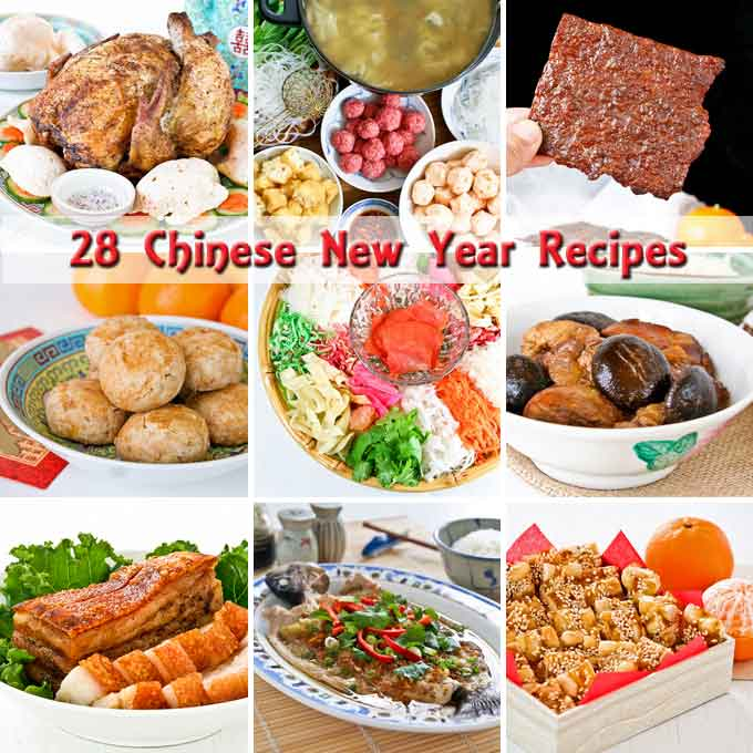 28 chinese new year recipes ushering in the year of the horse with delicious and - Chinese New Year Food Recipes