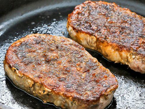 pork loin top loin chop recipes Pan Roasted Pork Loin Chops